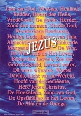 Gods Jezus namen